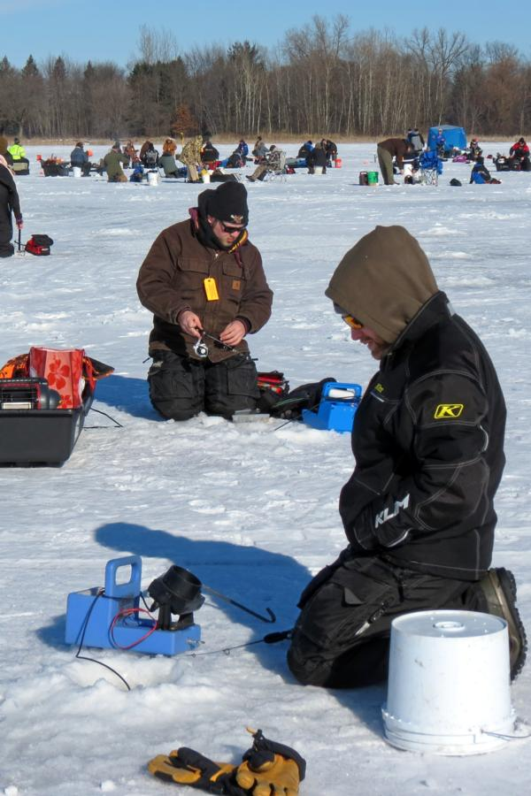 2016 pheasants on ice derby for Ice fishing tournament