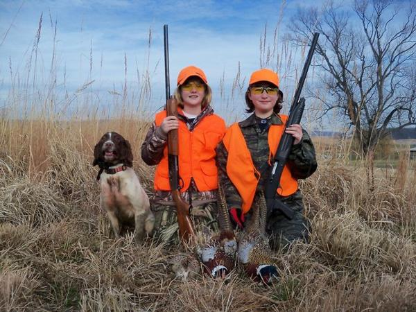 Youth brown county pheasants forever for Lifetime fishing license mn