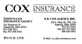 RB Cox Insurance Agency