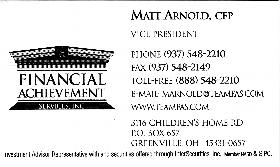 Financial Achievement Services