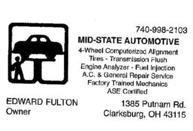 Mid-State Automotive