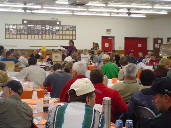Golden Prairie Pheasants Forever - Banquet Page