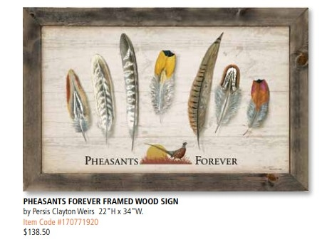 PF Framed wood feathers