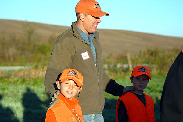 Annual Youth Mentor Pheasant Hunt