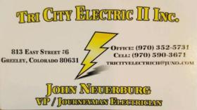 Tri City Electric II Inc.