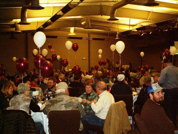 Attendees at the 2015 PF banquet at the Gateway Center in Helena