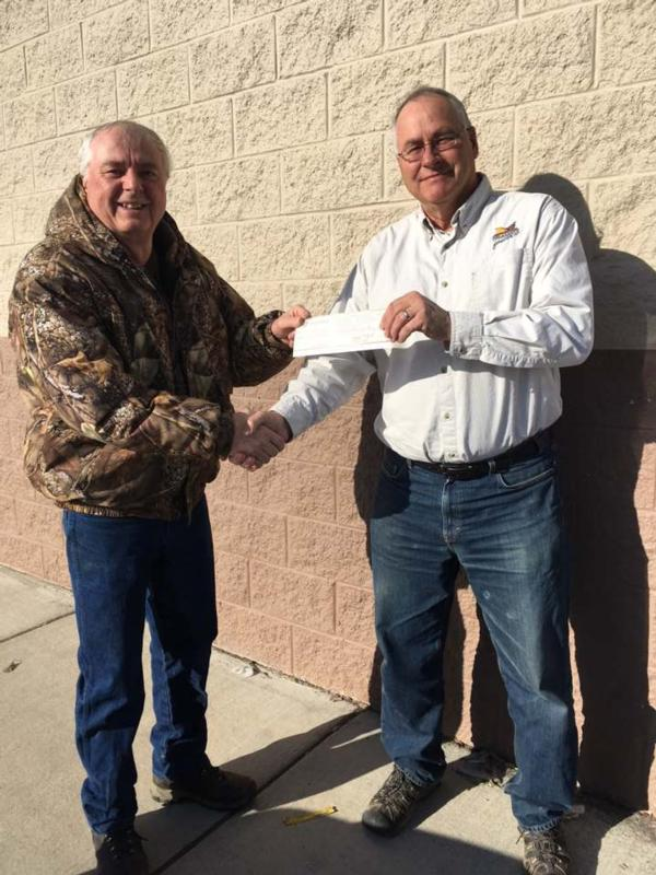 Lewis and Clark County 4H Shooting Sports Club receives donation from Chapter