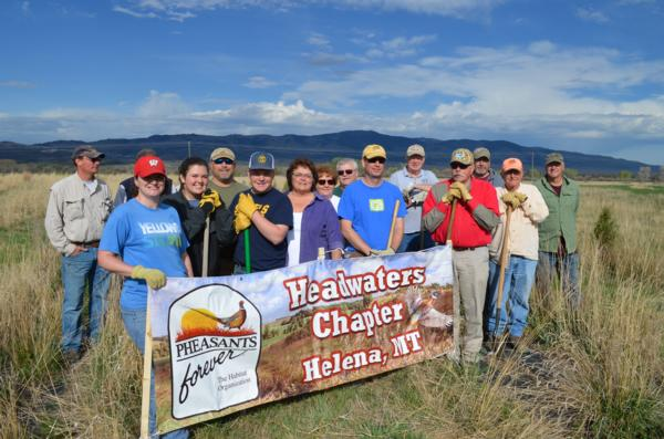 Canyon Ferry WMA Work Day a Success