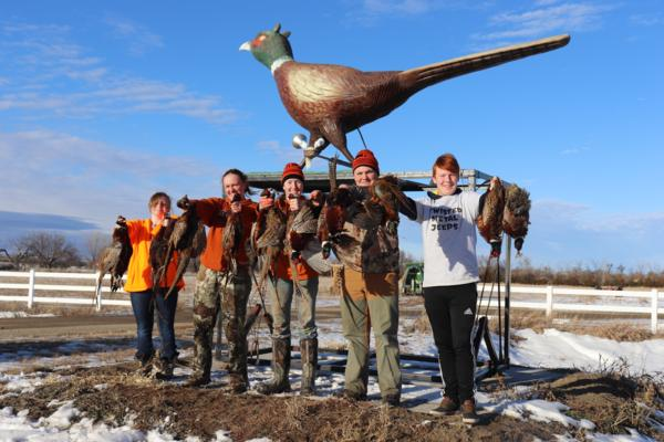 Chapter members head to South Dakota for a pheasant hunt with NYLC!