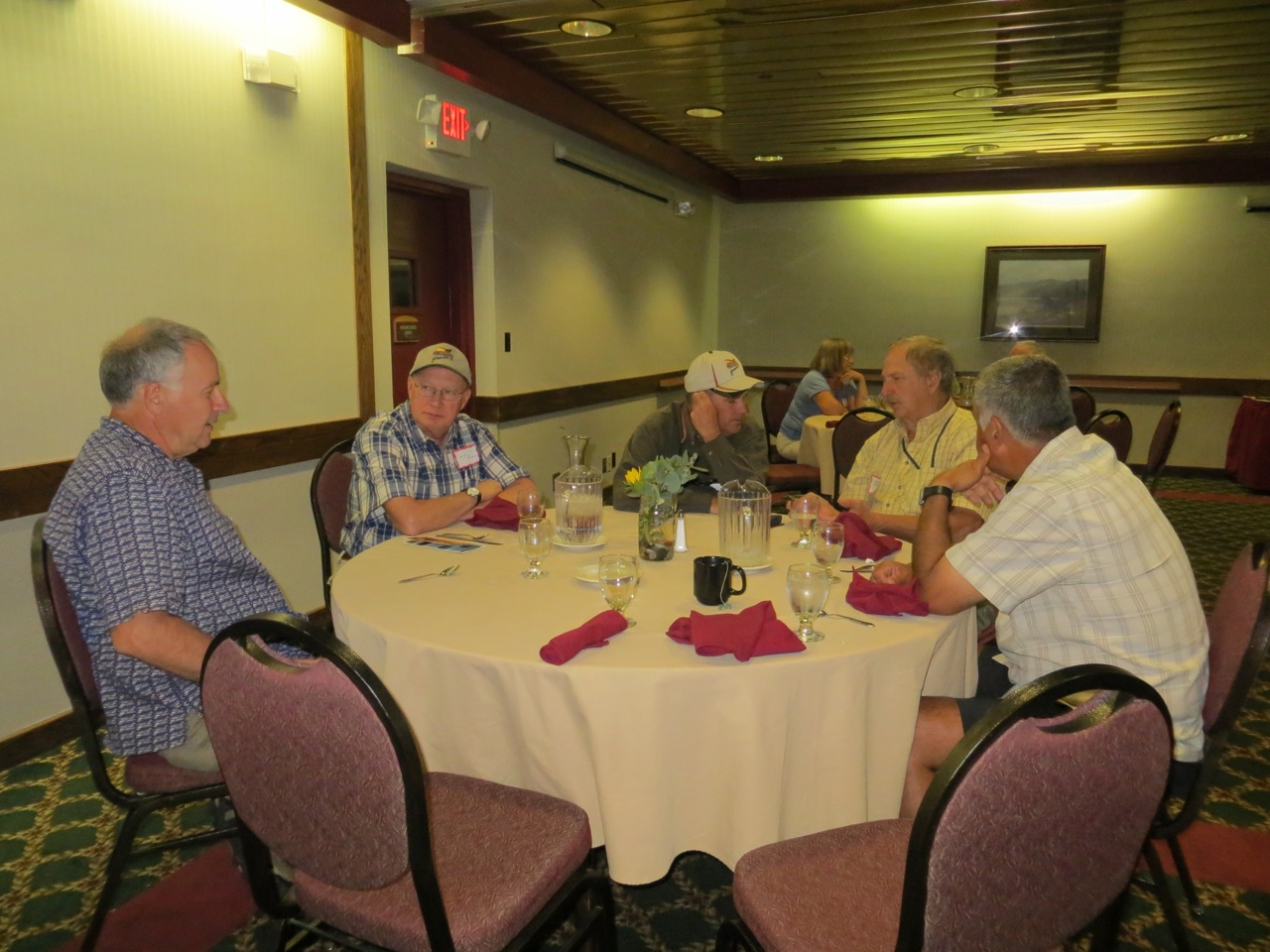 Headwater members visit during the Montana State Meeting in Dillon in 2013