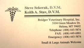 Bridger Veterinary Hospital