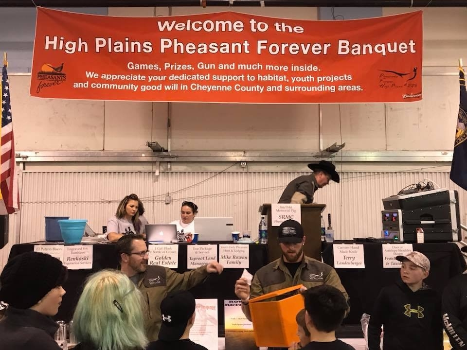 High Plains Pheasants Forever Banquet Highlights