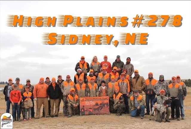 High Plains Pheasants Forever- SIDNEY, NE