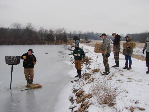 MIDDLE CREEK WILDLIFE MANAGEMENT AREA Hen Tube Install Project