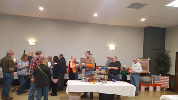 March 17, 2018 Banquet Photo (taken at IBEW Hall 405 in Cedar Rapids Iowa)