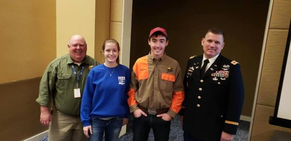 Linn County PF members attend National Pheasant Fest