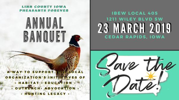Annual Linn County PF Banquet on March 23, 2019