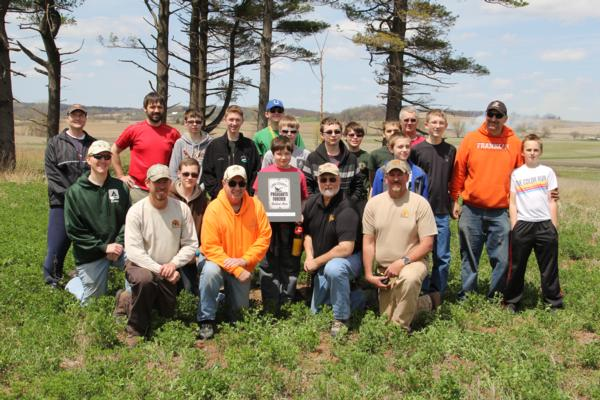 2014 Hawkeye Area Boy Scouts & Linn County PF Team up on Habitat Efforts