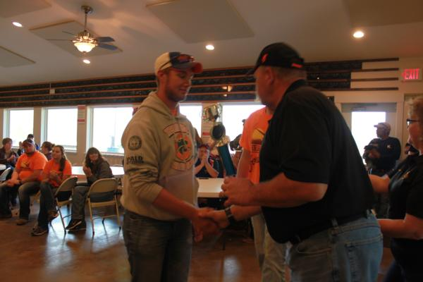 Wes Carlson/ student athlete the 2017 October Corridor Clay Crushers tournament - 2nd Annual Pheasants Forever shootout hosting 9 collegiate trap teams at Otter Creek in Cedar Rapids Iowa