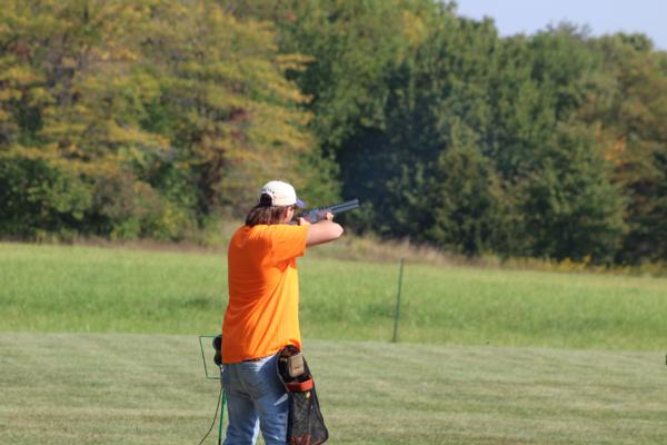 Jacob McCammant/ student athlete at the 2017 October Corridor Clay Crushers tournament - 2nd Annual Pheasants Forever shootout hosting 9 collegiate trap teams at Otter Creek in Cedar Rapids Iowa