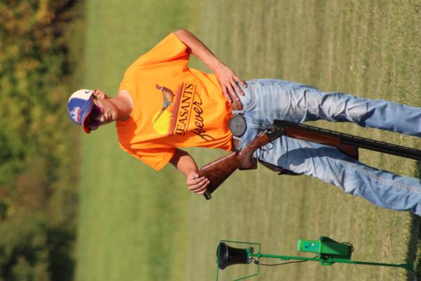 Alan Kriegermeier / student athlete the 2017 October Corridor Clay Crushers tournament - 2nd Annual Pheasants Forever shootout hosting 9 collegiate trap teams at Otter Creek in Cedar Rapids Iowa