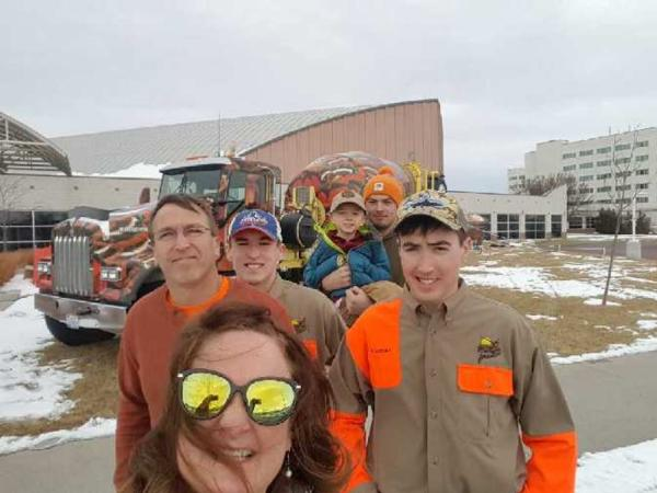 LinnCoPF Sponsored Youth at Pheasant Fest 2018
