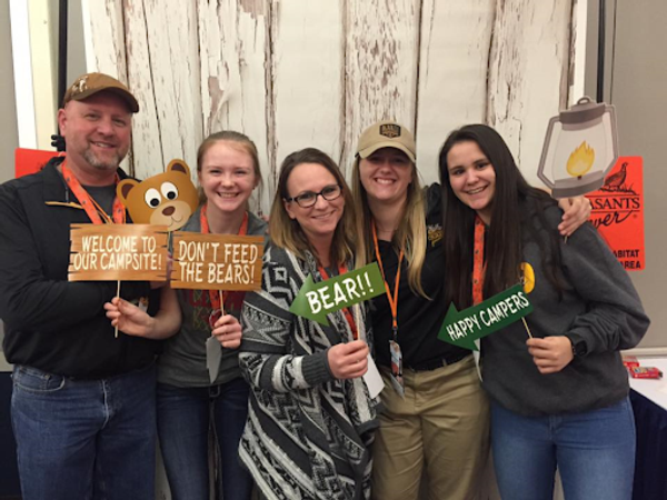National Pheasants Forever Pheasant Fest 2018 - Sioux Falls, SD (Mike Schmitz and family)