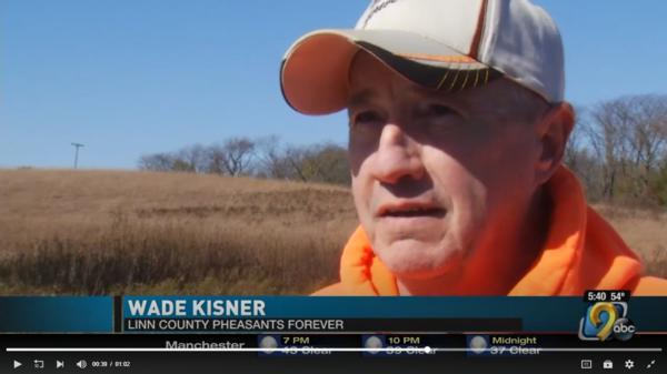 LinnCoPF's 2018 Heroes Hunt was highlighted on KCRG TV9 of Cedar Rapids, Iowa