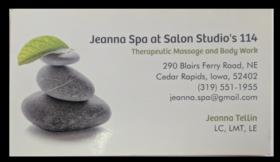 Jeanna Spa at Salon Studio's 114