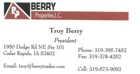 Troy Berry of Berry Properties