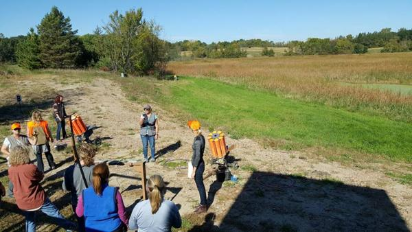 2nd Annual Women-Teaching-Women Wing Shooting