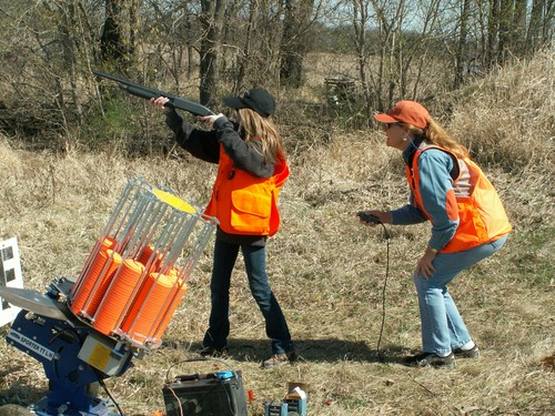 Youth Wingshooting March 2012