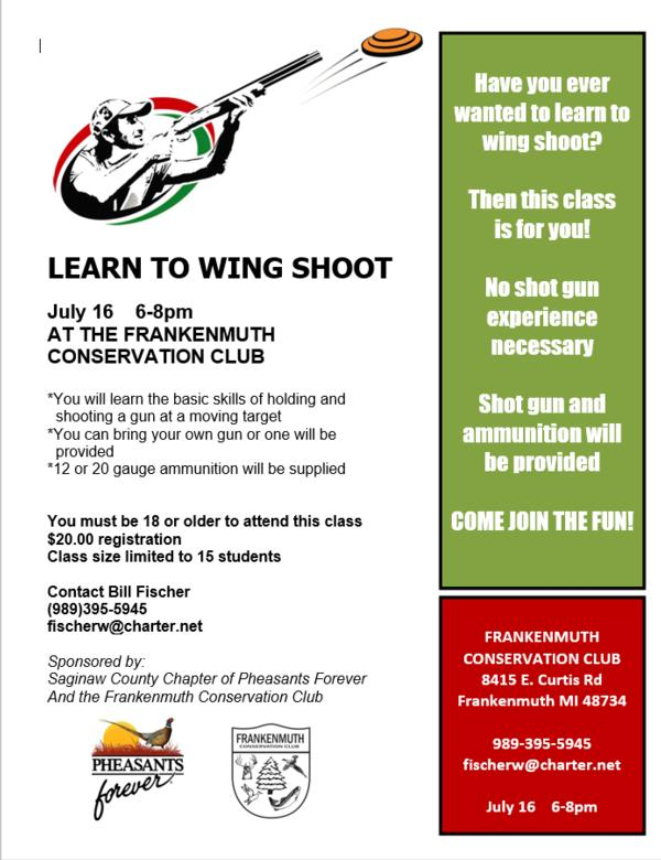 Learn to Wing Shoot Class