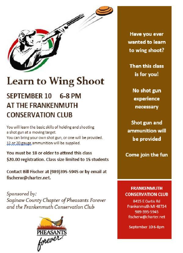 Learn to Wing Shoot