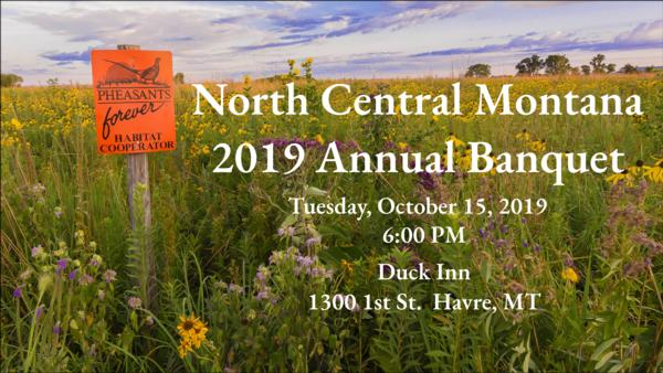 North Central Montana 33rd Annual Banquet - Havre, MT