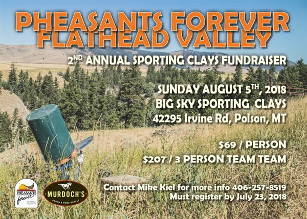 Flathead Valley Sporting Clays Fundraiser