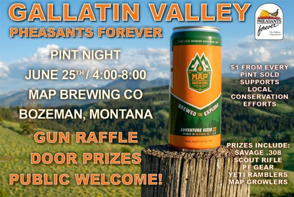 Gallatin Valley Pheasants Forever Pint Night