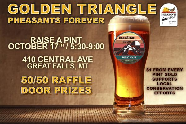 Golden Triangle Chapter RAISE A PINT
