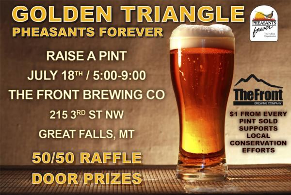 Golden Triangle Raise A Pint Night