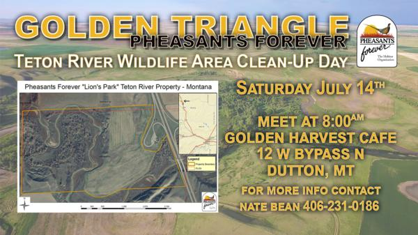 Golden Triangle Teton River Clean-Up Day
