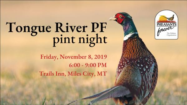 Tongue River PF Pint Night