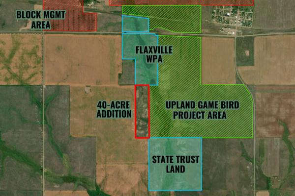 PHEASANTS FOREVER CHAPTERS & PARTNERS EXPAND MONTANA'S FLAXVILLE WATERFOWL PRODUCTION AREA