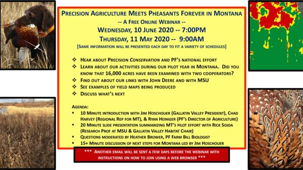 Precision Agriculture Meets PF in Montana Webinar
