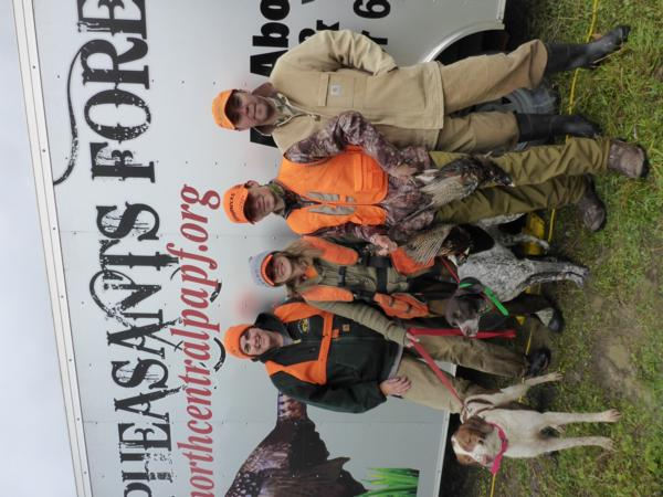 PF Mentored Youth Pheasant Hunt