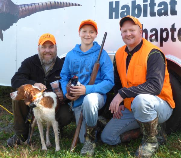 NC PA Pheasants Forever Mentored Youth Pheasant Hunt #2