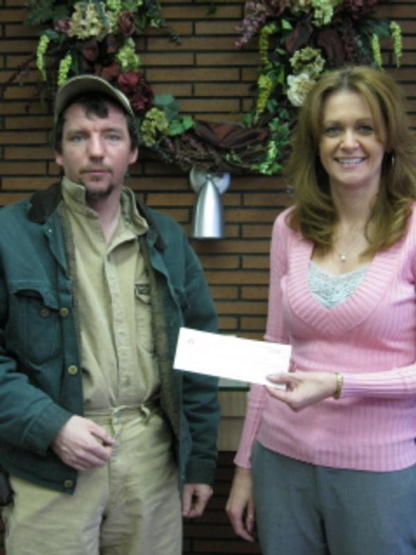 Elk County Savings and Loan Gun Donation Feb 2008