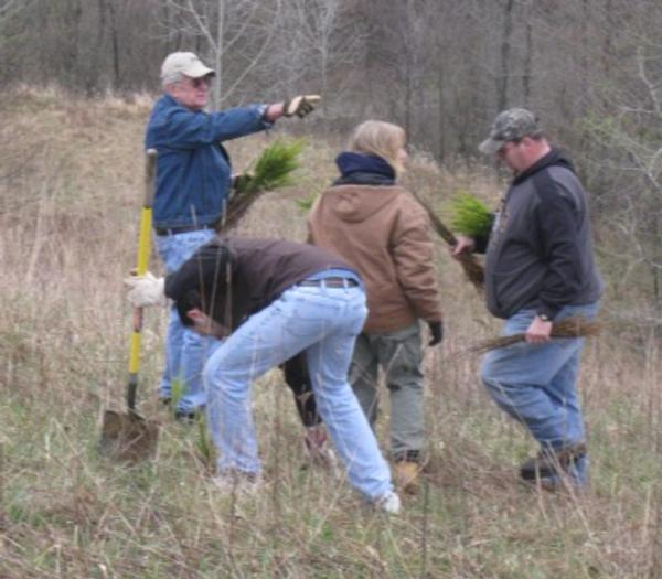 NC PA Pheasants Forever Habitat Work Day