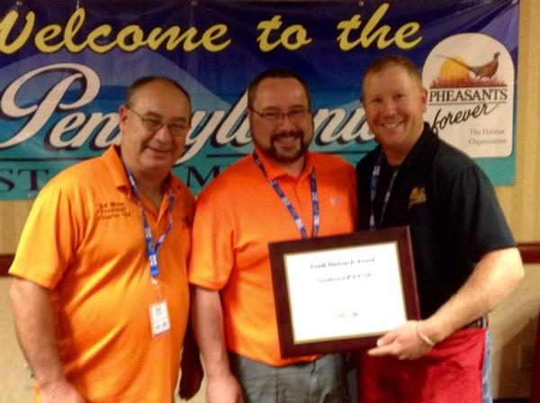 Chapter Wins State Award