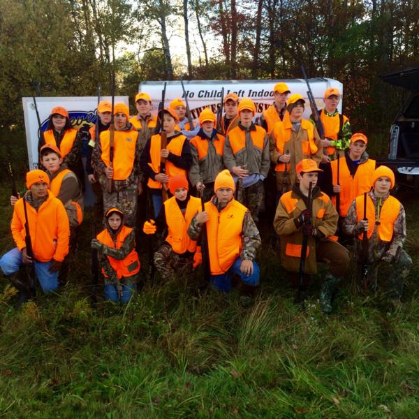 Junior Pheasant Hunt 10/10/2015