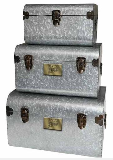 PF Industrial Metal Trunks